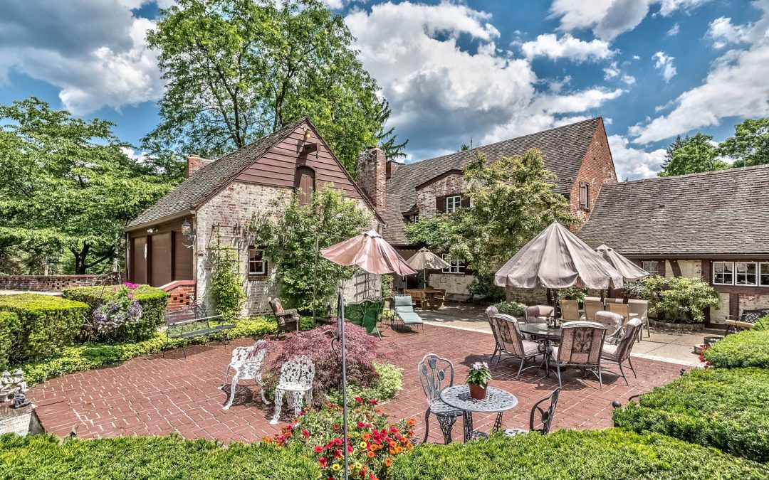 Imagine a French Country Villa…  Our home of the week!