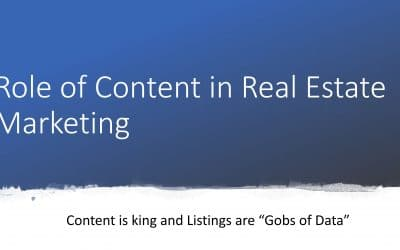 Role of Content in Real Estate Marketing